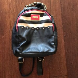 Betsy Johnson Small Backpack...Adorable